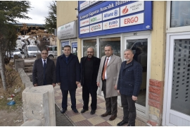 ATSO CHAIRMAN GÖKTAŞ AND THE BOARD OF DIRECTORS STARTED 2020 WITH A MEMBER VISIT