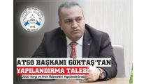 CONSTRUCTION REQUEST FROM ATSO PRESIDENT GÖKTAŞ