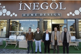 VISIT TO FURNITURE FROM ATSO CHAIRMAN GÖKTAŞ
