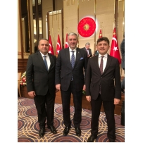 ATSO PRESIDENT PARTICIPATED IN THE PROGRAM ORGANIZED IN THE PRESIDENTIAL COMPLEX OF THE REPUBLIC OF GÖKTAŞ