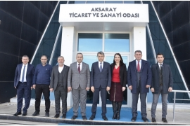 AKSARAY'S GIANT INVESTORS MEET AT ATSO FOR THE RAILWAY