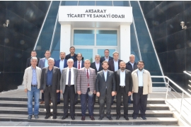 VISIT TO THE ATSO PRESIDENTS FROM MUNICIPAL PRESIDENT YAZGI