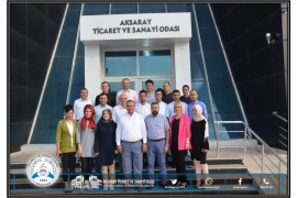 ATSO CHAIRMAN GÖKTAS STAFF PROJECTS SHARE