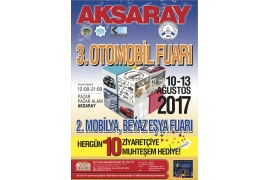 AKSARAY 3rd AUTOMOBILE 2. WHITE GOODS FURNITURE FAIR
