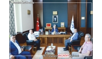 ASTS RECTOR VISITED ŞAHİN IN THE SCOPE OF ATSO INTERNSHIP BRIDGE